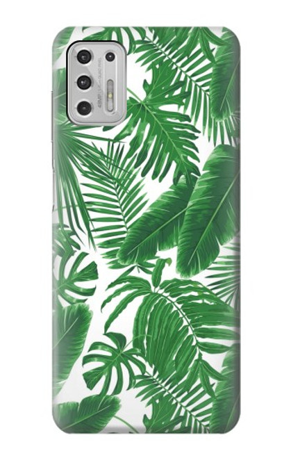 S3457 Paper Palm Monstera Case For Motorola Moto G Stylus (2021)