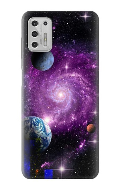 S3689 Galaxy Outer Space Planet Case For Motorola Moto G Stylus (2021)
