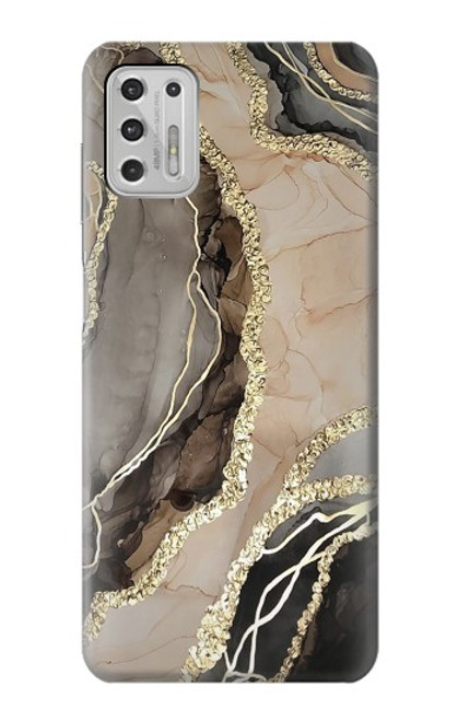 S3700 Marble Gold Graphic Printed Case For Motorola Moto G Stylus (2021)
