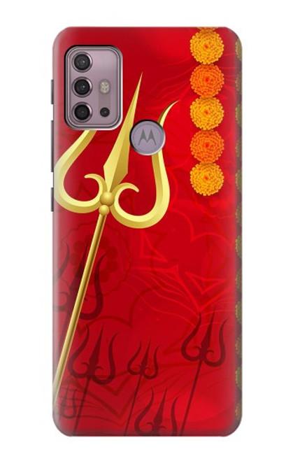 S3788 Shiv Trishul Case For Motorola Moto G30, G20, G10