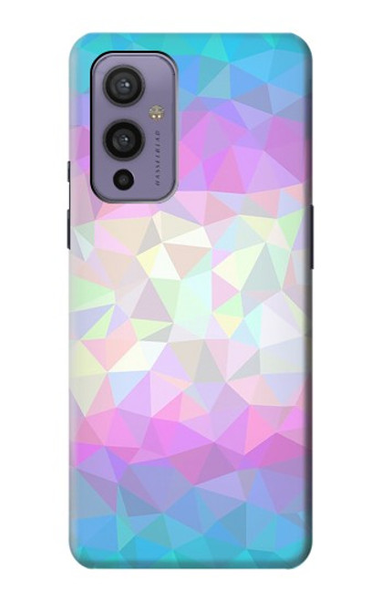 S3747 Trans Flag Polygon Case For OnePlus 9