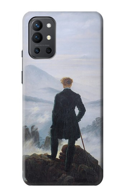 S3789 Wanderer above the Sea of Fog Case For OnePlus 9R