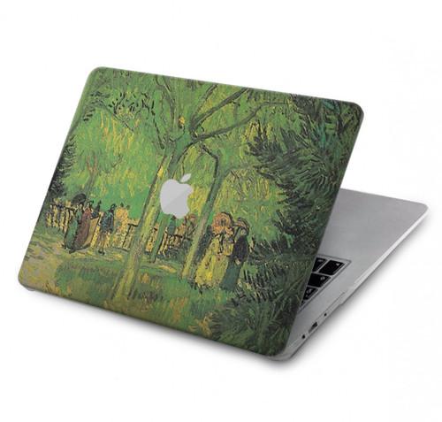 S3748 Van Gogh A Lane in a Public Garden Hard Case For MacBook Air 13″ - A1369, A1466