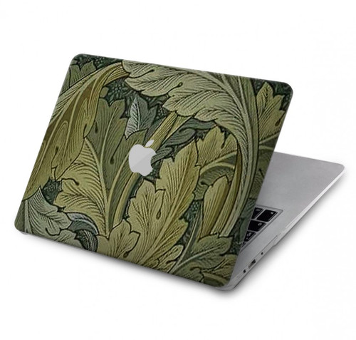 S3790 William Morris Acanthus Leaves Hard Case For MacBook Pro 13″ - A1706, A1708, A1989, A2159, A2289, A2251, A2338