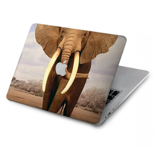 S0310 African Elephant Hard Case For MacBook Pro 15″ - A1707, A1990