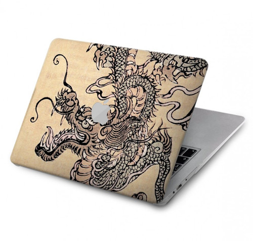 S0318 Antique Dragon Hard Case For MacBook Pro 15″ - A1707, A1990