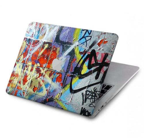 S0588 Wall Graffiti Hard Case For MacBook Pro 15″ - A1707, A1990