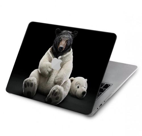 S0878 Black Bear Hard Case For MacBook Pro 15″ - A1707, A1990