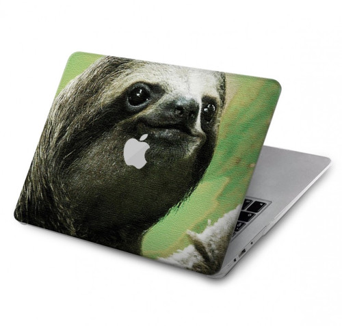 S2708 Smiling Sloth Hard Case For MacBook Pro 15″ - A1707, A1990