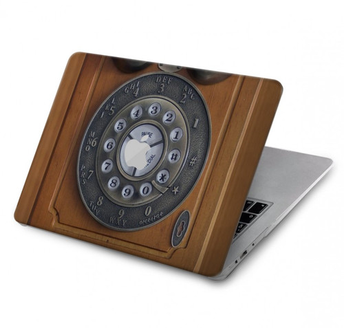 S3146 Antique Wall Retro Dial Phone Hard Case For MacBook Pro 15″ - A1707, A1990