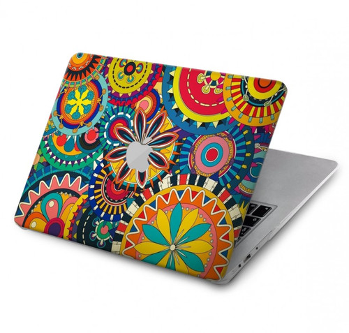S3272 Colorful Pattern Hard Case For MacBook Pro 15″ - A1707, A1990