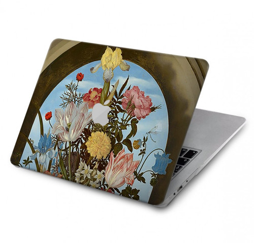 S3749 Vase of Flowers Hard Case For MacBook Pro 16″ - A2141
