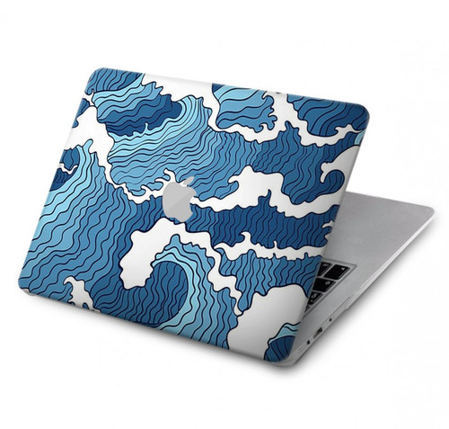 S3751 Wave Pattern Hard Case For MacBook Pro 16″ - A2141