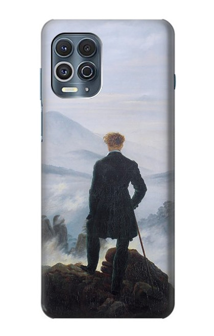S3789 Wanderer above the Sea of Fog Case For Motorola Edge S