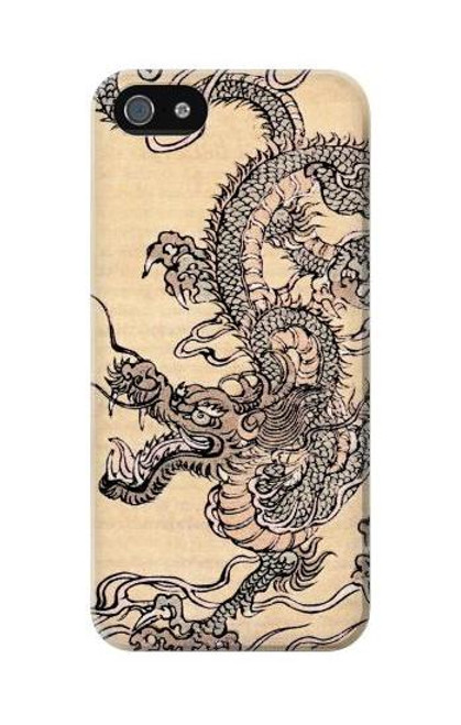 S0318 Antique Dragon Case Cover For IPHONE 5C