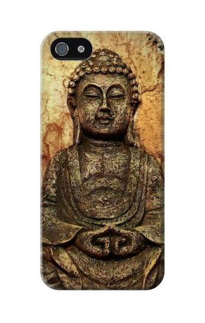 S0344 Buddha Rock Carving Case Cover For IPHONE 5C