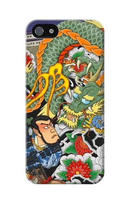 S0454 Japan Tattoo Case Cover For IPHONE 5C