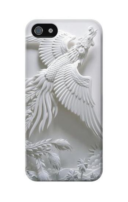 S0516 Phoenix Carving Case Cover For IPHONE 5C