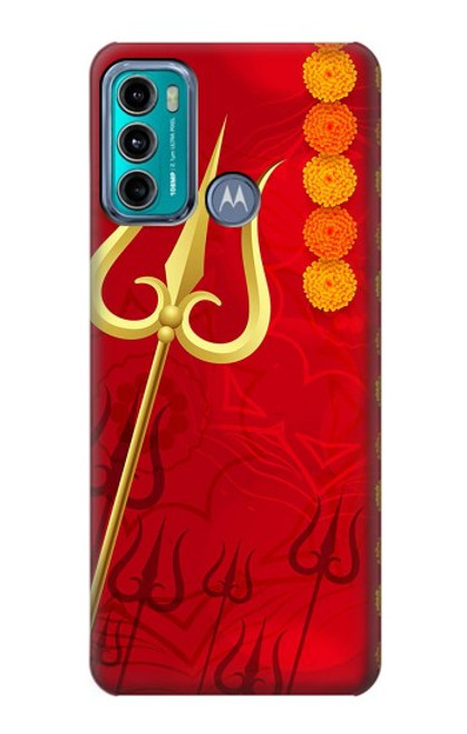 S3788 Shiv Trishul Case For Motorola Moto G60, G40 Fusion
