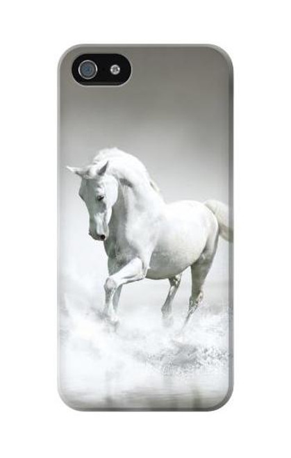 S0932 White Horse Case Cover For IPHONE 5C