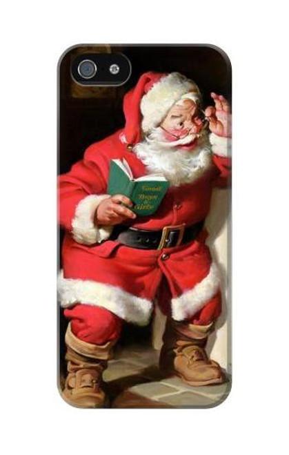 S1417 Santa Claus Merry Xmas Case Cover For IPHONE 5C