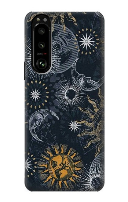 S3702 Moon and Sun Case For Sony Xperia 5 III