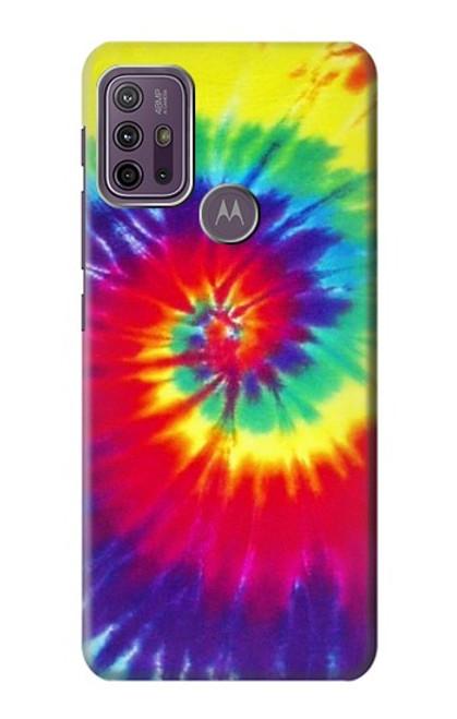S2884 Tie Dye Swirl Color Case For Motorola Moto G10 Power