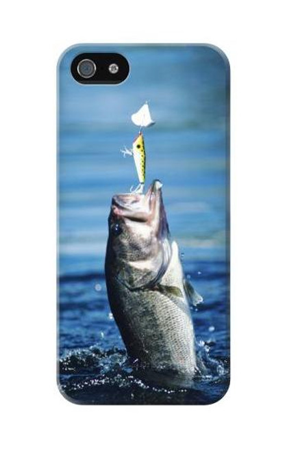 S1594 Bass Fishing Case Cover For IPHONE 5C