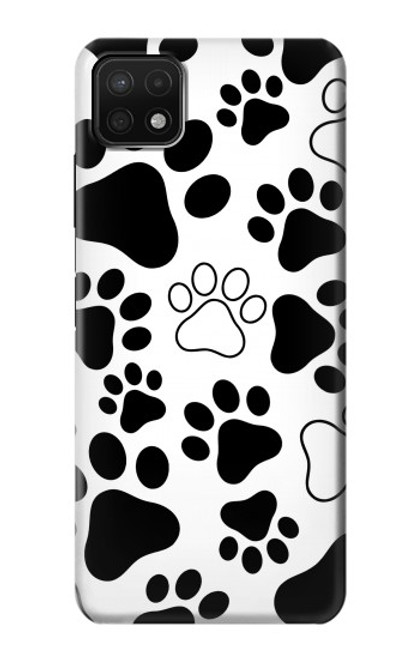 S2904 Dog Paw Prints Case For Samsung Galaxy A22 5G
