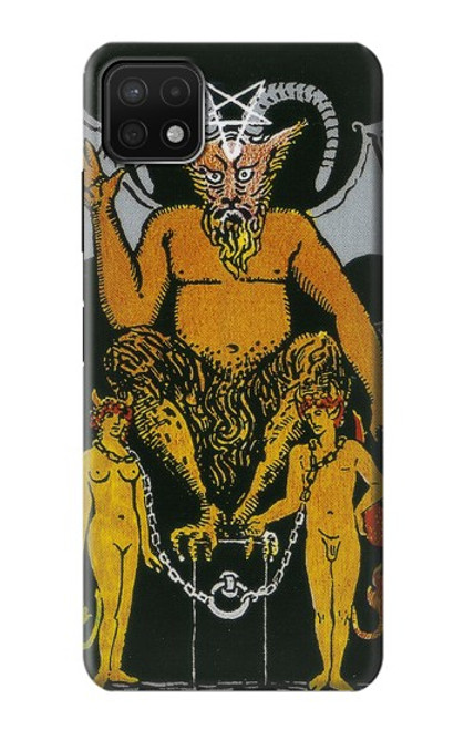 S3740 Tarot Card The Devil Case For Samsung Galaxy A22 5G