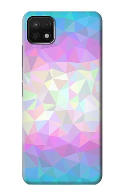 S3747 Trans Flag Polygon Case For Samsung Galaxy A22 5G