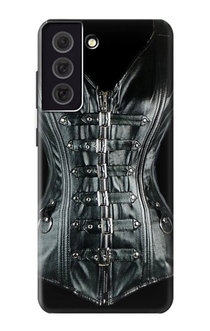S1639 Gothic Corset Black Case For Samsung Galaxy S21 FE 5G