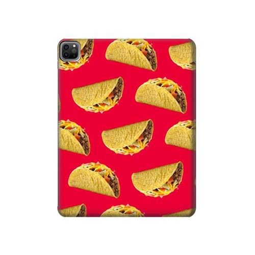 S3755 Mexican Taco Tacos Hard Case For iPad Pro 12.9 (2021)