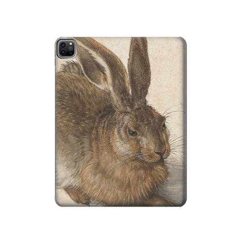 S3781 Albrecht Durer Young Hare Hard Case For iPad Pro 12.9 (2021)