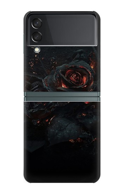 S3672 Burned Rose Case For Samsung Galaxy Z Flip 3 5G