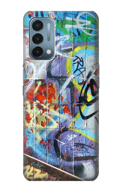 S0588 Wall Graffiti Case For OnePlus Nord N200 5G