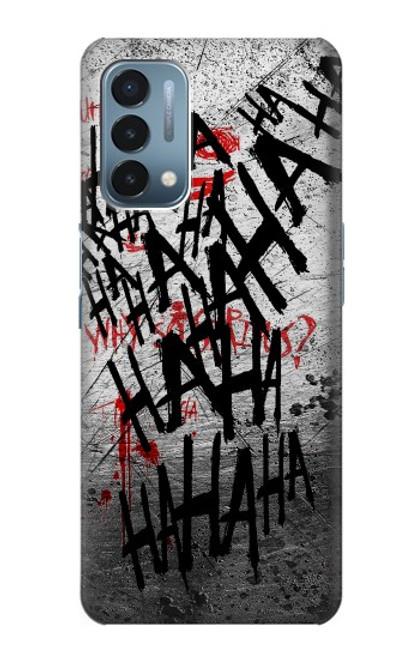 S3073 Joker Hahaha Blood Splash Case For OnePlus Nord N200 5G