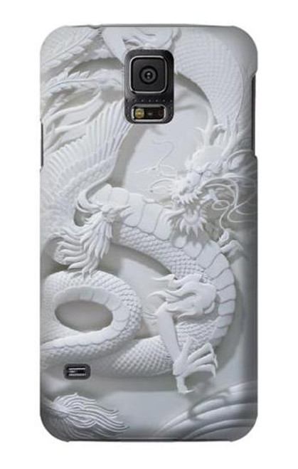 S0386 Dragon Carving Case For Samsung Galaxy S5