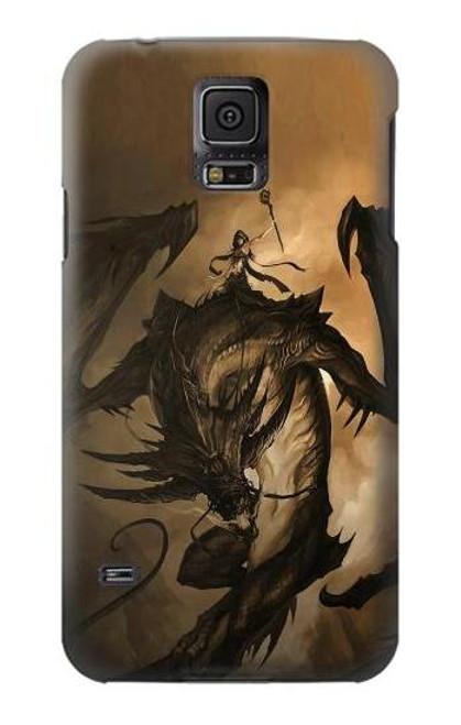 S0388 Dragon Rider Case For Samsung Galaxy S5