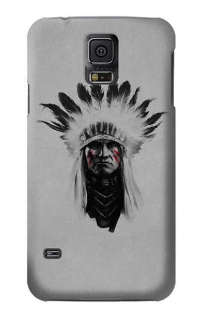 S0451 Indian Chief Case For Samsung Galaxy S5
