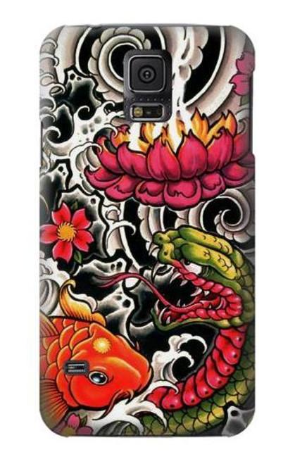 S0605 Yakuza Tattoo Case For Samsung Galaxy S5