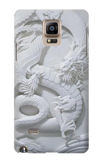 S0386 Dragon Carving Case For Samsung Galaxy Note 4