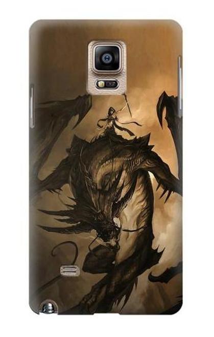 S0388 Dragon Rider Case For Samsung Galaxy Note 4
