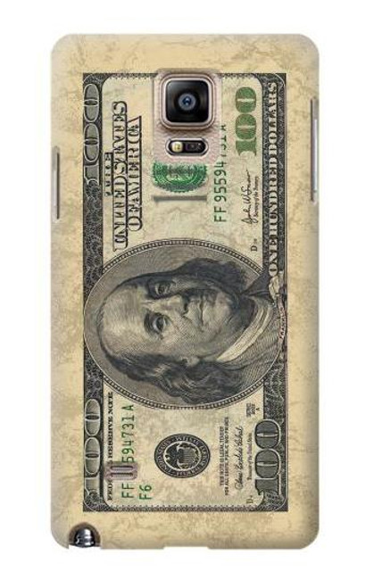 S0702 Money Dollars Case For Samsung Galaxy Note 4