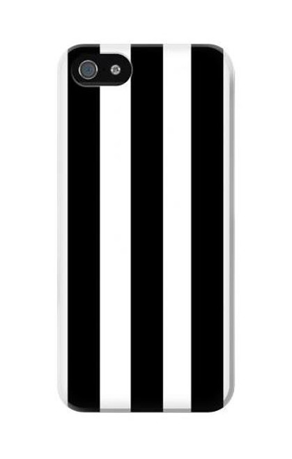 S2297 Black and White Vertical Stripes Case For IPHONE 5C