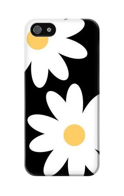 S2315 Daisy White Flowers Case For IPHONE 5C