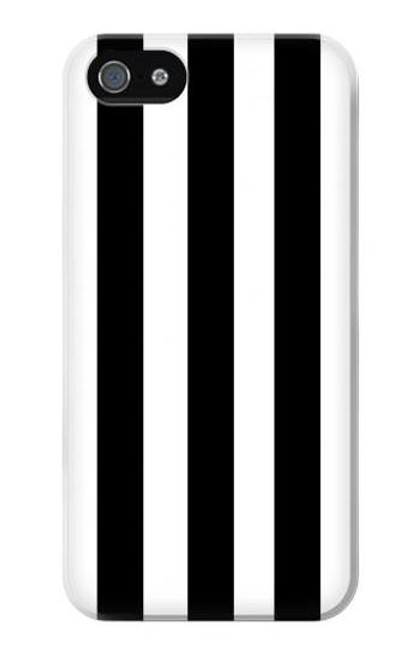 S2297 Black and White Vertical Stripes Case For IPHONE 4/4S