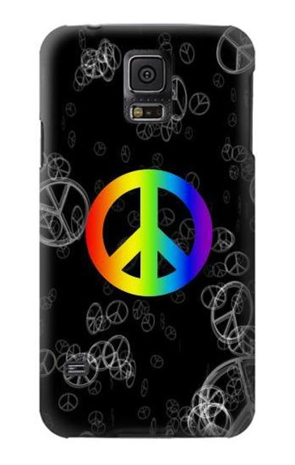 S2356 Peace Sign Case For Samsung Galaxy S5