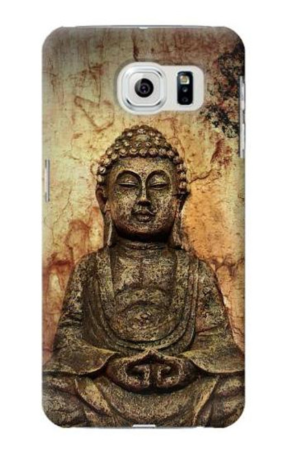 S0344 Buddha Rock Carving Case For Samsung Galaxy S6