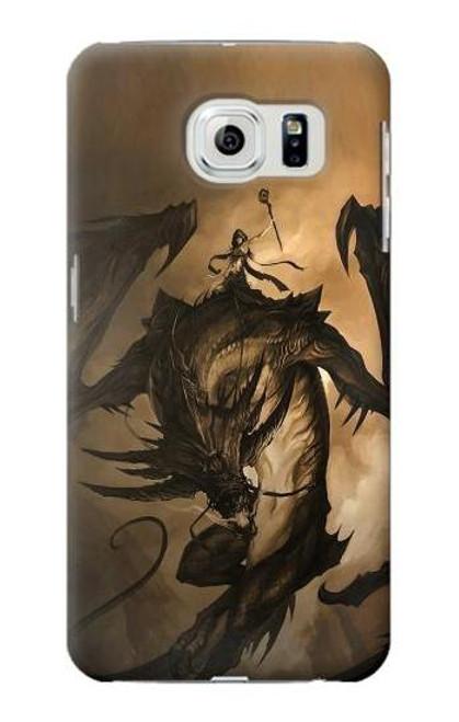 S0388 Dragon Rider Case For Samsung Galaxy S6